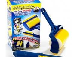 Щетка-валик для уборки и чистки одежды Schticky Buddy (набор 2 шт. )