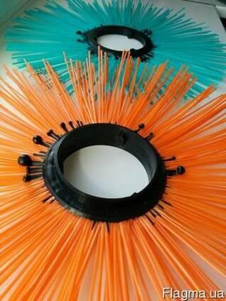 Щетки дисковые 120х550, диск щеточный полипропиленовый