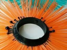 Щетки дисковые 120х550, диск щеточный полипропиленовый - фото 1