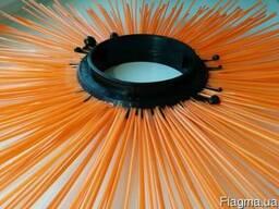 Щетки дисковые 120х550, диск щеточный полипропиленовый - фото 5