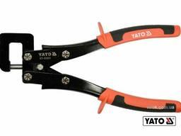 Щипці для з'єднання металевих профілів YATO 280 мм 0.8 мм