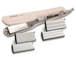 Щипцы для волос Magio MG-175P с насадками для гофре