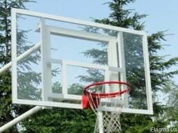 Щит баскетбольный 1800х1050 оргстекло