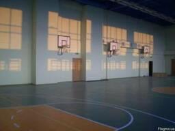 Щит баскетбольный с кольцом и сеткой , оборудование для баск