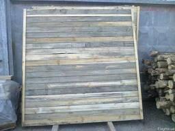 Щит деревянный для забора или ограждения (строительный)
