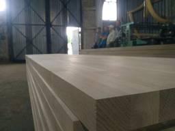 """Щит срощенный(дуб)""""AB"""", EXW, FCA, Wood panels oak 38-40мм"""