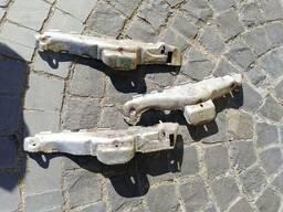 Щиток термозащита кожух выпускного коллектора 1.3 Opel...