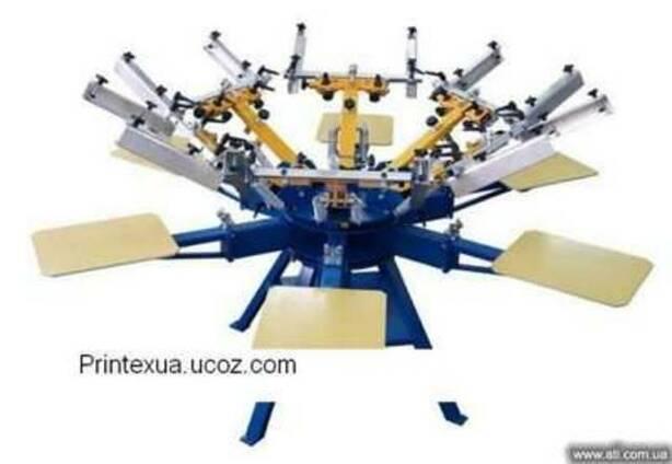 Шелкотрафаретный ручной станок текстиля MAN Printex