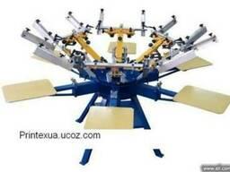 Шелкотрафаретный ручной станок текстиля MAN Printex - фото 1