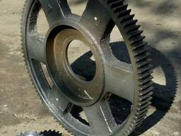 Шестерни поворотные для крана Пионер