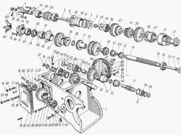 Шестерни, валы КПП ЮМЗ-6, МТЗ-80 (производство СССР)