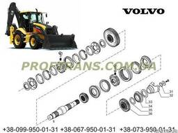Шестерня КПП VOLVO BL71 вольво синхрогизатор, муфта.