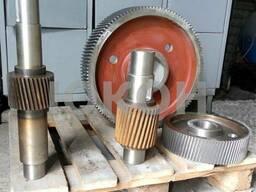 Комплект валов и шестерен для гранулятора ОГМ 1.5