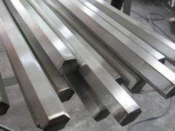 Калиброванный шестигранник металлический 21 19 35 85 60 мм [Опт и Розница] от 1 кг