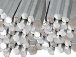 Шестигранник нержавеющий от 12 мм до 44 мм ст.12Х18Н10Т AISI 304 ГОСТ