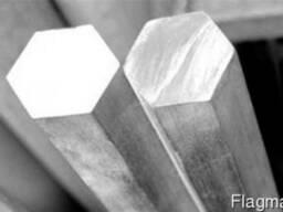 Шестигранник алюминиевый 27 мм алюминий Д16т