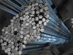 Шестигранник диаметром 52 мм сталь 45