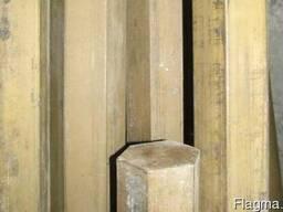 Шестигранник латунный 41мм ЛС59-1