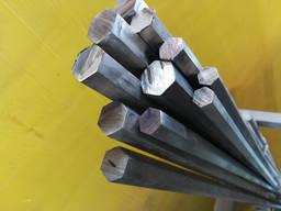 Шестигранник стальной калиброванный 21 19 35 85 60 мм [Опт и Розница] от 1 кг
