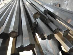 Шестигранник стальной 65 мм сталь 20