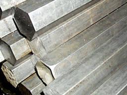 Шестигранник стальной №14, 17, 19, 24мм калибр. ст. 20, 40Х