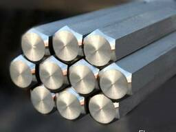 Шестигранник калиброванный, сталь (10, 20, 35, 45, 40Х) ГОСТ
