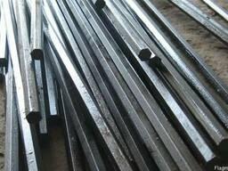 Шестигранник стальной калиброванный сталь 20, 35, 45, 40Х