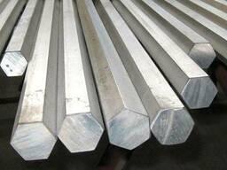 Шестигранник калиброванный, горячекатаный сталь 40Х со склад