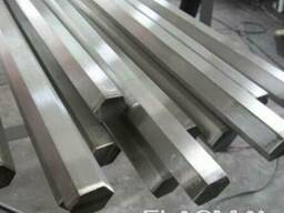 Алюминиевый шестигранник с порезкой по размерам