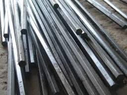 Шестигранник стальной от 8 до 300 мм от 1 метра