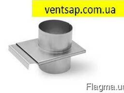 Шибер Ventsap оцинк. 0,7 мм, диаметр 120 мм. дымоход
