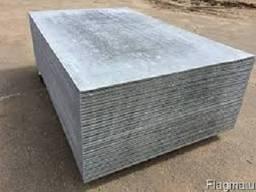 Шифер плоский, асбестоцементные листы. Шифер плоский 10*1500
