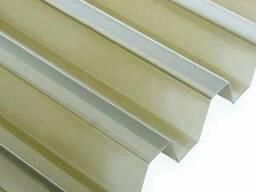 Шифер ПВХ Salux WHR 70/18 трапеция бронзовая 1,8х0,9 м