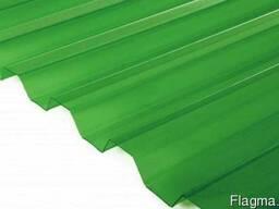 Шифер ПВХ Salux WHR 70/18 трапеция зеленая 1,8х0,9 м