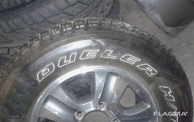 Шина Bridgestone Dueler H/T 275/65 R17 запаска в кожухе