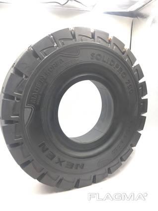 Шина цельнолитая 5.00-8 Nexen Solidpro 700