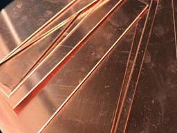 Шина медная электротехническая 3, 5х10, 5мм ШММ и ШМТ