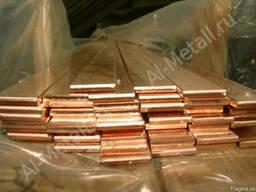 Шина медная электротехническая сечения шириной 30 мм (30х4)