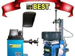 Шиномонтажный и балансировочный станок BEST (комплект) Акция