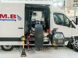 Шиномонтажный станок+ балансировка для грузовиков 380V. ..