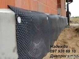 Шиповидная мембрана для гидроизоляции