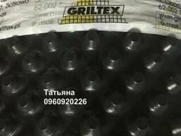 Шиповидная мембрана Griltex 600. Рулон 2х20