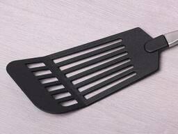 Широкая поварская лопатка с отверстиями Kamille KM-5017