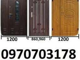 Широкие входные двери в дом