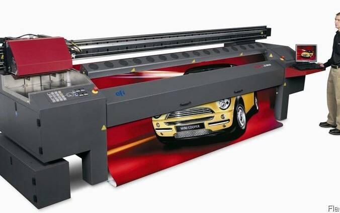 Широкоформатная печать, печать баннеров