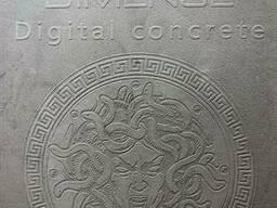 Широкоформатные обои печать на заказ замша Suede print до 1440 dpi 300 гр м кв.