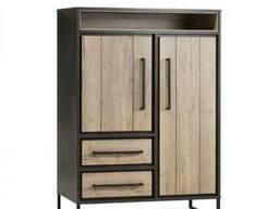 Шкаф для хранения в стиле LOFT (Rack - 318)