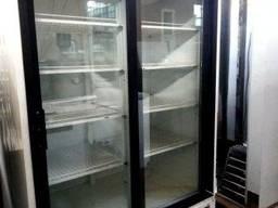 Шкаф холодильный б/у 2 двери купе Техно холод ШХСДД 1, 2 Канз