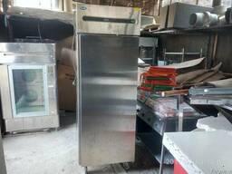 Шкаф морозильный 700 литров нерж. Б/У на колёсах Одесса