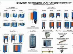 Шкаф приборный каркасный ПШ-к (не утепленный для КИПиА)